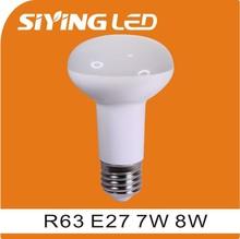 Siying CE LVD CERTIFICATE TPT SMD R63 E27 led bulb light