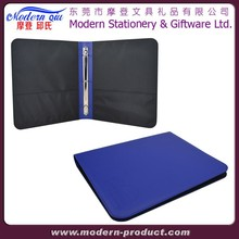 faux leather 3 ring binder
