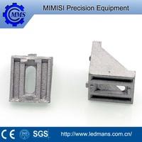 CNC machining,precision machinery machining 303 stainless steel long solid retaining bracket according to