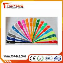 125khz PVC rfid wristband in LFchip HITAG1/2/S
