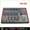 MX-802 New Professional 8 Channels Audio Mixer