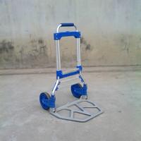 lightweight aluminium small luggage cart