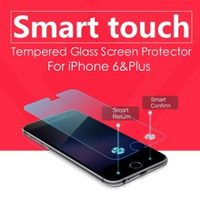 mobile phone accessories 9h hardness tempered glass screen protector of ledo magic touch