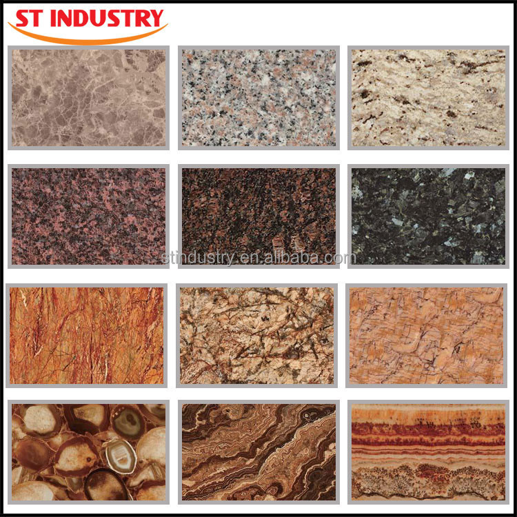 New material high quality healthy design interior exterior for Types of marble tile