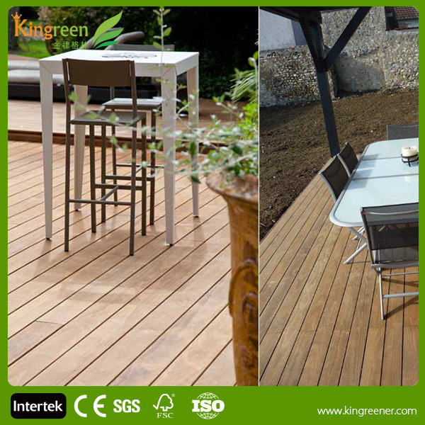 Non slip outdoor marine and swimming pool wood plastic for Garden decking non slip