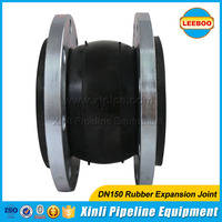 Duct Connector Flexible Single Sphere Rubber Expansion Joints