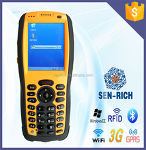 Sen-rich rfid pda with wifi, 3g, barcode scanner, bluetooth
