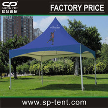 Custom printed 20x20 marquee tent for sale with logo printed on roof