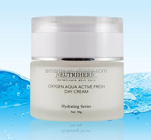 High Quality Most Effective Oxygen Aquas Whitening Moisturizing Hydrating Anti-wrinkles Natural Herbal Best Day Cream with Spf