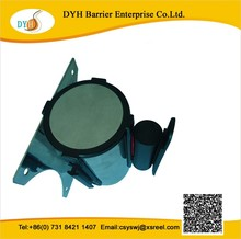 Metal Wall Mounted Belt Cartridges Cassette for crowd control stanchion used in store