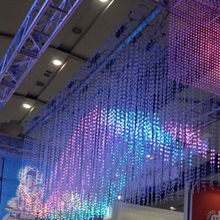2014 new design LED Madrix 3D display screen decorative display screen