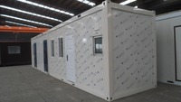 20ft/40ft high quality portable economic living container house