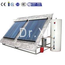 100L-500L Double Coil Family Use Heat Pipe Split Pressure Solar Hot Water Heater