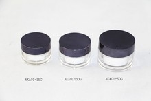 STYLING JAR PLASTIC/free makeup samples cosmetics/plastic containers
