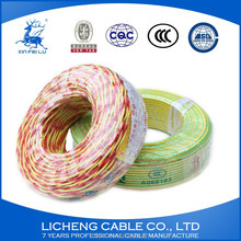 RVS 2.5mm Cu/PVC flexible electric twisted wire