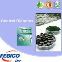 Diabetes Dietary Supplement Spirulina Chromium Active Food Supplement