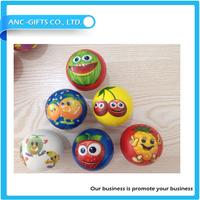Promotional gift kids games cheap fruit shaped stress ball