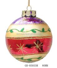 Wholesale handblown glass ball sets for xmas decoration