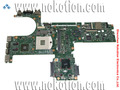 613298-001 placa base del ordenador portátil para hp 6450b 6550b no-integrado hm57 con tarjeta gráfica ati ddr3