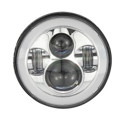led motorcycle headlight 1350-1770 luminous with high power
