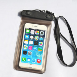 5.5 inch Waterproof transparent mobile cellphone bag