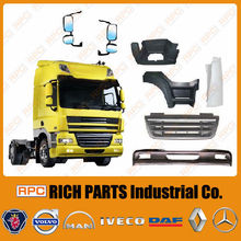 European Truck Body Parts for Truck Bumper, Truck Mirror Made in Taiwan LF/ CF/ XF95/XF 105 DAF Truck Body Parts