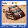 Large capacity cell phone men's zipper clutch wallet for business men