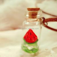 hot sale glass vial pendant