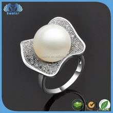 Wholesale Costume Jewelry 2015 Culture Pearl Rings