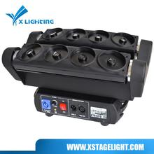 Multifunctional laser net spider moving head lighting dj disco club projector for wholesales