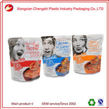 250 grams Stand up Zipper Pouches powder packaging