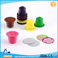 China manufacturer food grade plastic pp empty coffee capsule