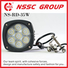 Legal on way 4.3 inches 5000 lumen cree led driving lights for trucks led lamps