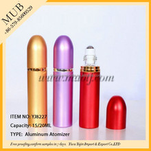 various of color can be customized original perfume bottle aluminum