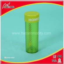 Cheap reusable 8 OZ hiking water bottles in plastic AS