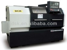 rim straightening machine for making car wheel and planetary gear with tail stock LED monitor security protection SK36