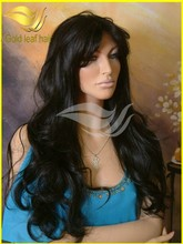 Premium quality 12-30inch glueless Brazilian human hair full lace wig