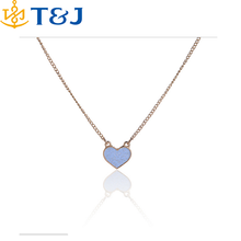 s>>>> Hot Selling New New European and American wind pure Alloy girls dress long necklace color love pendant necklace/