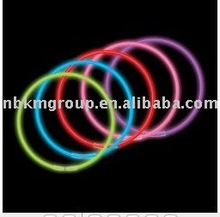 Colorful glow necklaces