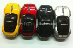 Well usb 2.4g optical car wireless mouse