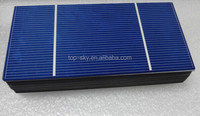 Customized size 156x39MM 0.5V PV broken solar cells for sale