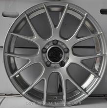 F861408 silver /black car alloy wheels 16 14 15 inch car rims 5x100/112