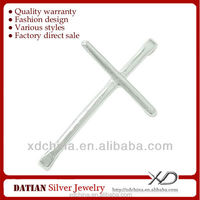 XD P397 925 sterling silver cross jewelry connector
