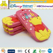 Custom Silicone Animal Shape Phone Case 3d Mobile Phone Cover for HTC M8