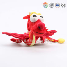 chinese giant red dragon stuffed plush soft toys