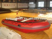 Best small fising vessel inflatable boat HLM300(CEand ISO)