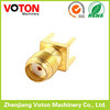 SMA female Connectors Gold plated sma rf pcb connector