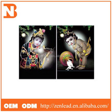 Factory selling 3d picture /3d hindu god picture / 3d pictures indian god