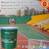 Two component PU outdoor sport playground floor coating JD-800