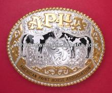 Belt Buckle Belt Buckle With American Paint Horse Association